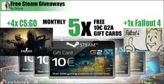 Free Code Steam Wallet and 5x AAA Games http://www.free-steam-giveaways.com/free-code-steam-wallet-and-5x-aaa-games/