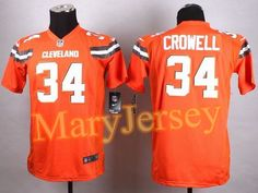 689537e2720 ... 34 jersey vs cincinnati Youth Nike Isaiah Crowell Brown Cleveland Browns  Team Color Game Jersey 23.88 per one