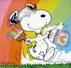 Discover collectible Peanuts Springbok Puzzles featuring Snoopy, Woodstock, Charlie Brown, and the Peanuts Gang from the comic by Charles M. Sanrio, Snoopy Cartoon, Watercolor Birthday Cards, Snoopy Images, Snoopy Quotes, Frases Humor, Comic, Hallmark Cards, Charlie Brown And Snoopy