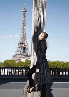 Tamara Slijkhuis by Thomas Krappitz for Elle Germany August 2015