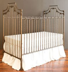 Bratt Decor Parisian 3-in-1 Crib. A dream! Includes set up to make it a poster or canopy crib