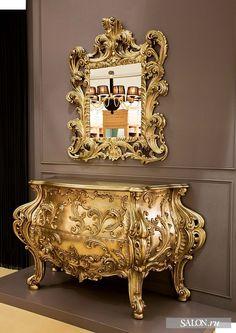 Комод с зеркалом, дизайнеры Джанфранко и Тициано Радиче, Fratelli Radice