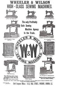 8 Best 1892-1899 Wheeler & Wilson W9 (treadle) sewing