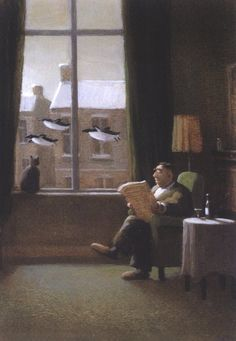 By Michael Sowa............Nope, I didn't see anything strange out there. . . .