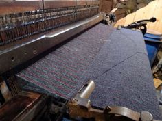 The Hattersley Domestic Loom was the mainstay of the Harris Tweed industry for the best part of the 20th century and this is one of the few still in use today on the Isle of Lewis & Harris