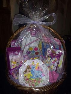 Disney's Princess gift basket