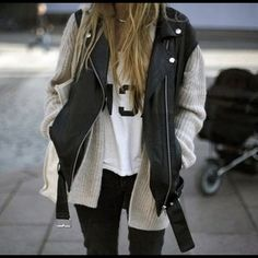 gonna try this.. but first, look for a sleeveless vest(?) like that..