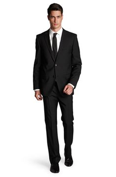 """Hugo Boss """"Astro/Hill"""" Suit - he looked fabulous in this at our wedding!"""