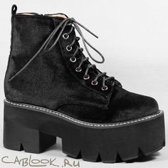 Ботинки женские Jeffrey Campbell SIGLIN black в магазине дизайнерской обуви CabLOOK.ru