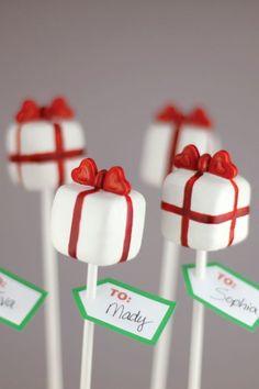 Pretty Present Cake Pop DIY | by Bakerella on TheCakeBlog.com