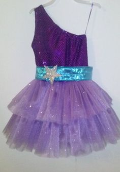 Barbie Princess and Popstar Keira Purple Dress by HandmadebyCatira