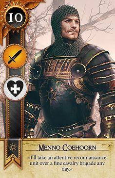 Menno Coehoorn (Gwent Card) - The Witcher 3: Wild Hunt