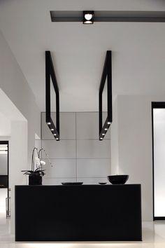 Attractive Cuarto De Baño Diseñado Por Ceramica Fioranese Con Efecto De Mármol Negro |  Interiores Para Baños | Pinterest