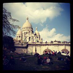 Monmartre and the Sacre Coeur, Paris