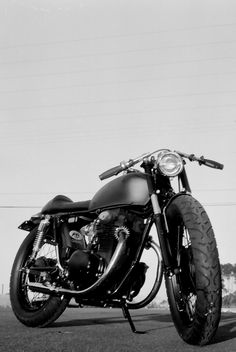 Cafe Racer | Photoshoot with Dave and his newly built CB Caf… | Flickr