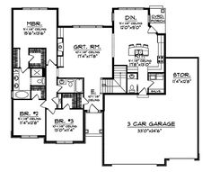 Dogwood Acres Ranch Home Plan 051D-0460 | House Plans and More