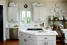 a Cote de Texas kitchen, beautiful !