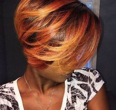 Fall color via @1hairperfection - https://blackhairinformation.com/hairstyle-gallery/fall-color-via-1hairperfection/