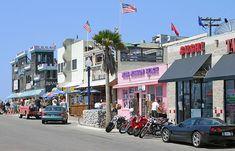 Mission Beach Shops, San Diego