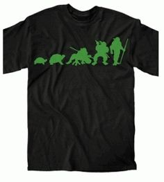 Ninja Turtles Evolution Shirt