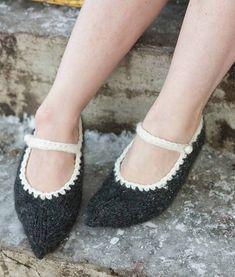 Ravelry: Icelandic soft shoes pattern by Hélène Magnússon