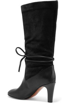 Chloé - Suede And Leather Boots - SALE20 at Checkout for an extra 20% off