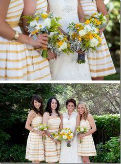 10 Ways to Add Stripes To Your Wedding - KnotsVilla