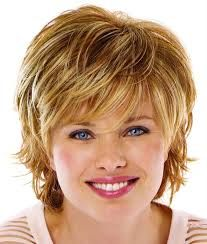 Image result for medium hairstyles for fine hair round face