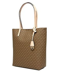 db83af51b066d MICHAEL Michael Kors Hayley Large Convertible Tote MochaBisque    Be sure  to check out this