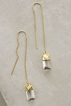 Quartz Sweeper Earrings - anthropologie.com #anthrofave