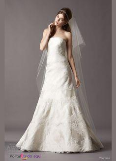 Vestido de noiva tomara que caia 2013: Uma seleção com os mais lindos vestidos | Portal Tudo AquiPortal Tudo Aqui