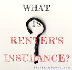Renter's insurance is an important coverage that most renters don't think they need or think they can't afford. See what renter's insurance is and why you need it. Insurance Broker, Dental Insurance, Best Pet Insurance, Insurance Agency, Health Insurance, Home Insurance, Life Insurance Quotes, Insurance Benefits, Renters Insurance