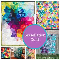 Tesselation Quilt   Southern FabricSouthern Fabric