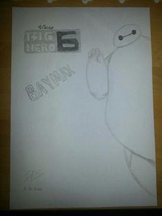 Big Hero 6 drawing