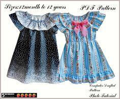 5 Berries Sewing Patterns - Valentina Dress