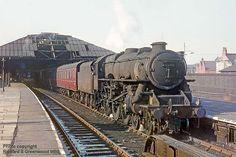 David Heys steam diesel photo collection - 48 - RAIL MODELLING PAGE Steam Trains Uk, Old Steam Train, Diesel Locomotive, Steam Locomotive, Steam Railway, Train Art, British Rail, Steamers, Steam Engine