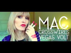 MAC SWATCHES - Crosswires vs Vegas Volt | MICHELA ismyname ❤️