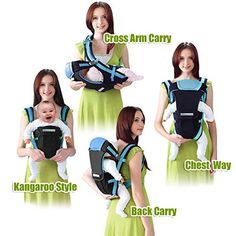 Zorro Mall Infantino Hoodie Universal All Season Baby Carrier Cover, Green