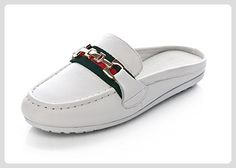 Sommer Frauen Cool Hausschuhe rund flach Hausschuhe Hausschuhe Hausschuhe weiblich Damen Kopf Kühl Sandalen Casual Füße Füße Schuhe, weiß - Hausschuhe für frauen (*Partner-Link)