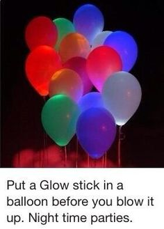 Glow In The Dark Party Ideas For A Fun New Years Eve With Kids