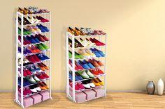7 or 10-Tier Shoe Rack