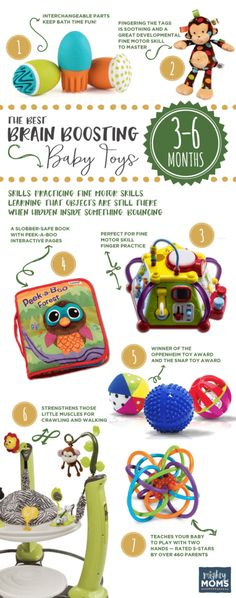 3-6 Months: The Best Brain-Boosting Baby Toys: A Buying Guide for Smart Parents - MightyMoms.club