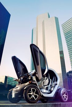 ★ Renault Electric Car - futuristic!