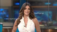 Barbara Bermudo anchoring on Primer Impacto -- 7/16/2012 ~ YogaFrogCaps