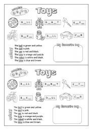 PrimaryLeap.co.uk Old or new toys Worksheet HISTORY