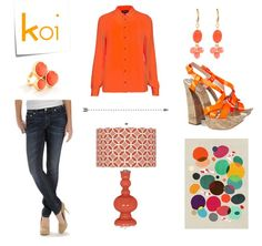 Say hello to Koi, one of @Lola McGinnis's 2013 fall fashion picks. Pair it with dark blue denim, a match made in color wheel heaven!