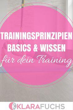 """Trainingsprinzip 1: Prinzip des optimalen Belastungsreizes  """"Dieses Prinzip geht…"""