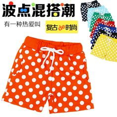 >> Click to Buy << Kz-2050 2017 Summer Catamite Girl Children's Garment Wave Point Trousers Baby Children Leisure Time Shorts You Tight Pants  #Affiliate