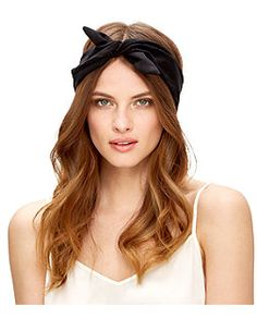 Black Suedette Wire Headscarf    New Look