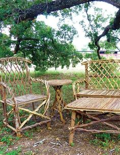 Tree furniture on pinterest the bends furniture and twig furniture